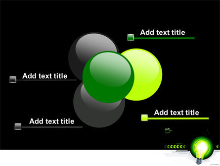 Green Light Schematically PowerPoint Template Slide 10