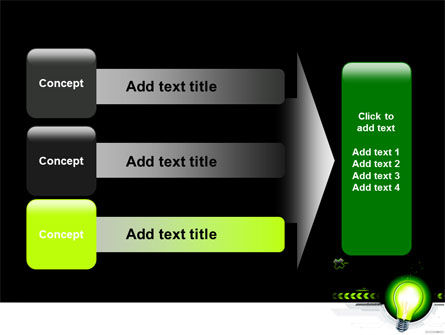 Green Light Schematically PowerPoint Template Slide 12