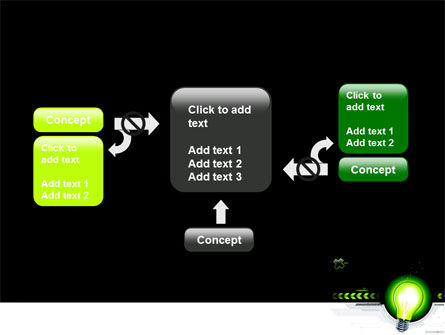 Green Light Schematically PowerPoint Template Slide 13
