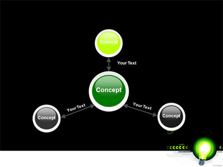 Green Light Schematically PowerPoint Template Slide 14