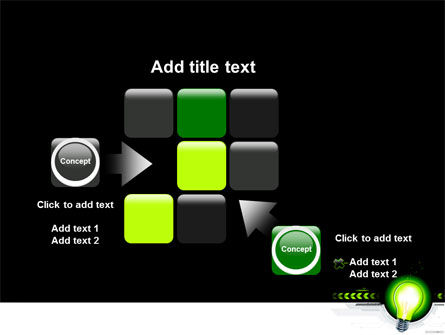 Green Light Schematically PowerPoint Template Slide 16