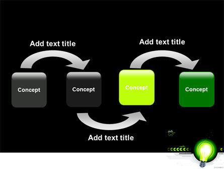 Green Light Schematically PowerPoint Template Slide 4
