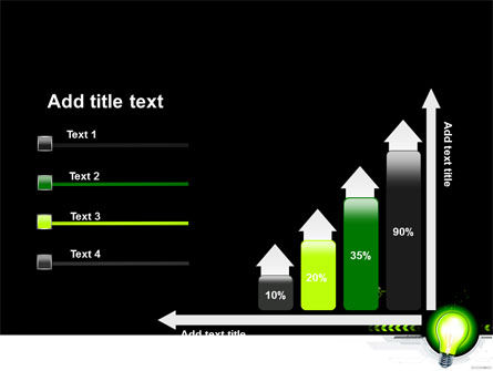 Green Light Schematically PowerPoint Template Slide 8