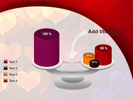 Heart Shaped Lights PowerPoint Template Slide 10