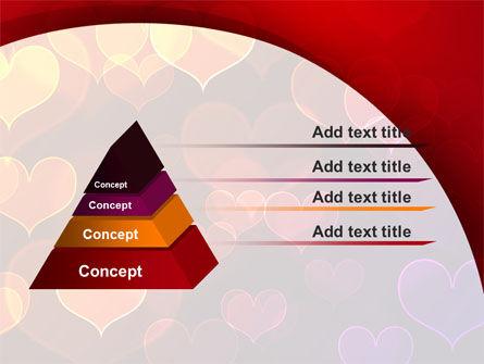 Heart Shaped Lights PowerPoint Template Slide 12