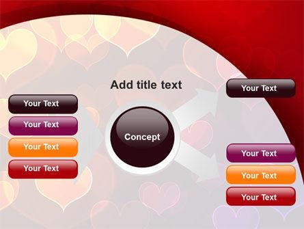 Heart Shaped Lights PowerPoint Template Slide 14