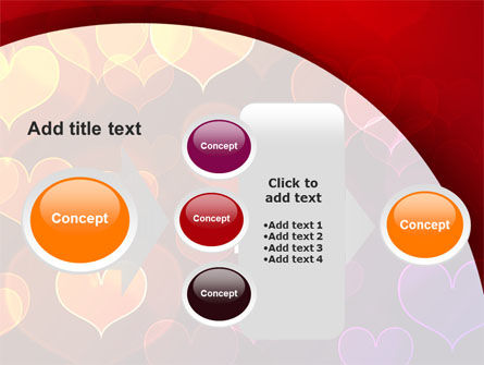 Heart Shaped Lights PowerPoint Template Slide 17