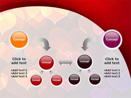 Heart Shaped Lights PowerPoint Template Slide 19