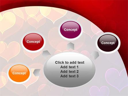 Heart Shaped Lights PowerPoint Template Slide 7