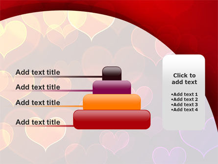 Heart Shaped Lights PowerPoint Template Slide 8