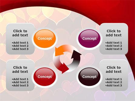 Heart Shaped Lights PowerPoint Template Slide 9