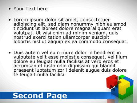 Fitting Pieces PowerPoint Template, Slide 2, 08326, Business Concepts — PoweredTemplate.com