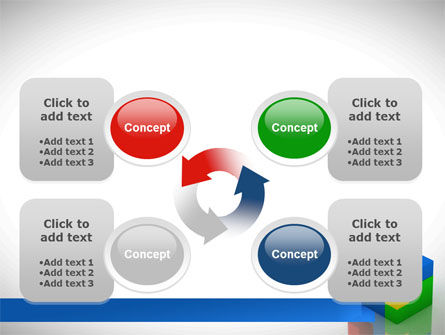 Fitting Pieces PowerPoint Template Slide 9