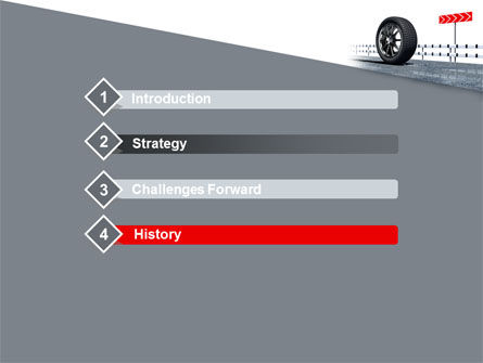 Tire Change PowerPoint Template, Slide 3, 08327, Cars and Transportation — PoweredTemplate.com