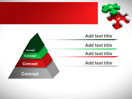 Jigsaw Plus PowerPoint Template Slide 12