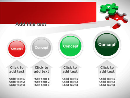 Jigsaw Plus PowerPoint Template Slide 13
