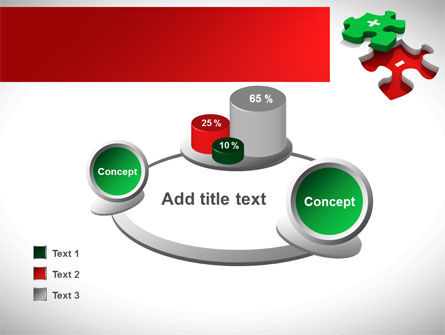 Jigsaw Plus PowerPoint Template Slide 16