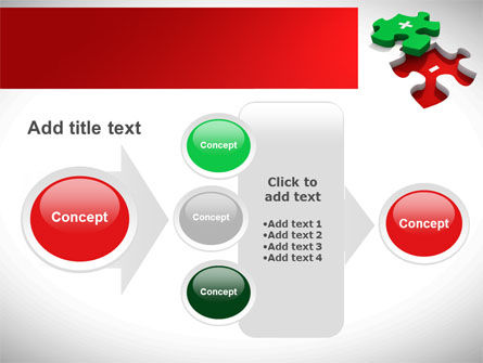 Jigsaw Plus PowerPoint Template Slide 17