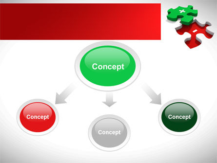 Jigsaw Plus PowerPoint Template, Slide 4, 08328, Consulting — PoweredTemplate.com
