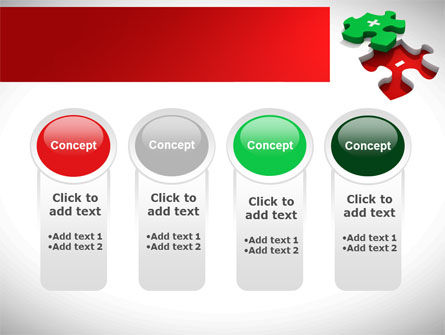 Jigsaw Plus PowerPoint Template Slide 5