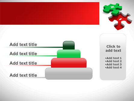 Jigsaw Plus PowerPoint Template Slide 8