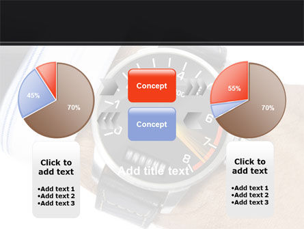 Clock Timer PowerPoint Template Slide 11