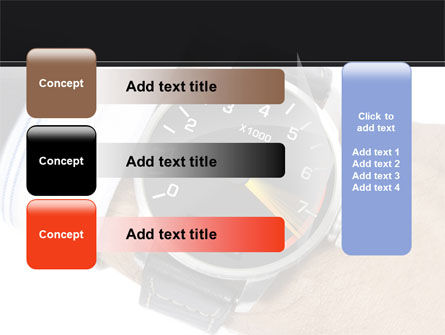 Clock Timer PowerPoint Template Slide 12