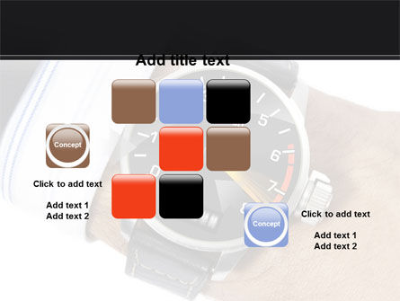 Clock Timer PowerPoint Template Slide 16