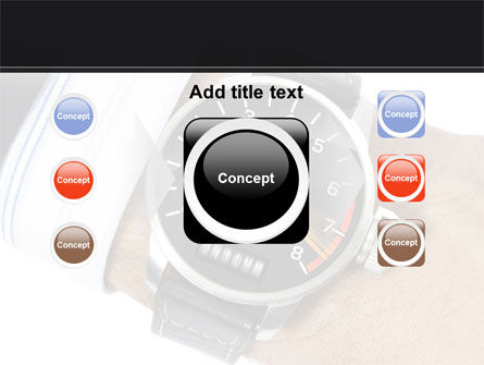 Clock Timer PowerPoint Template Slide 17