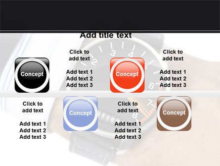 Clock Timer PowerPoint Template Slide 19
