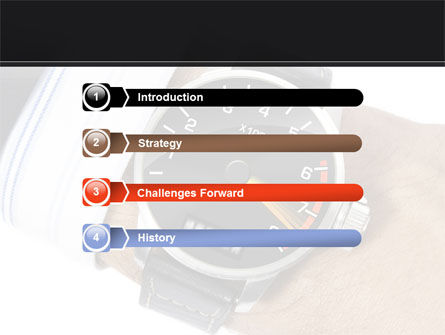 Clock Timer PowerPoint Template, Slide 3, 08329, Business Concepts — PoweredTemplate.com