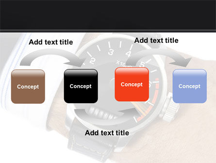 Clock Timer PowerPoint Template, Slide 4, 08329, Business Concepts — PoweredTemplate.com