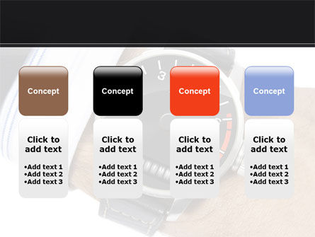 Clock Timer PowerPoint Template Slide 5