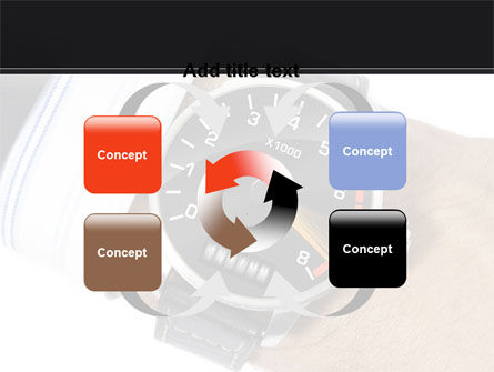 Clock Timer PowerPoint Template Slide 6