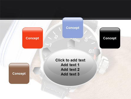 Clock Timer PowerPoint Template Slide 7
