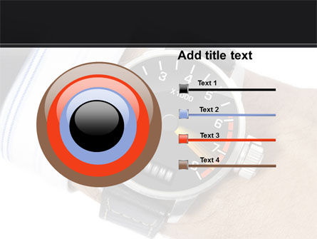 Clock Timer PowerPoint Template Slide 9