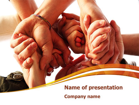 Religious/Spiritual: Group Support PowerPoint Template #08331