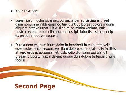 Group Support PowerPoint Template, Slide 2, 08331, Religious/Spiritual — PoweredTemplate.com