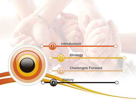 Group Support PowerPoint Template, Slide 3, 08331, Religious/Spiritual — PoweredTemplate.com