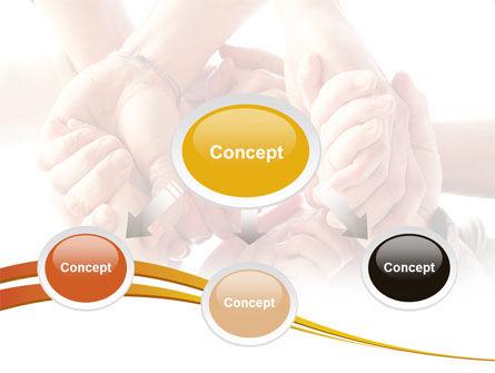 Group Support PowerPoint Template, Slide 4, 08331, Religious/Spiritual — PoweredTemplate.com