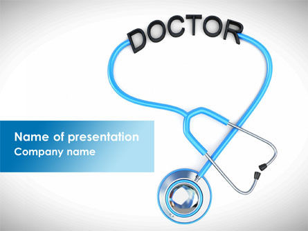 Medical: Medical Practice PowerPoint Template #08333