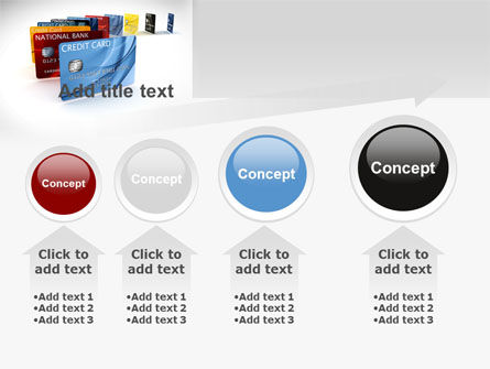 Credit Card For Long Range Payment PowerPoint Template Slide 13