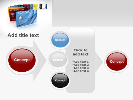 Credit Card For Long Range Payment PowerPoint Template Slide 17