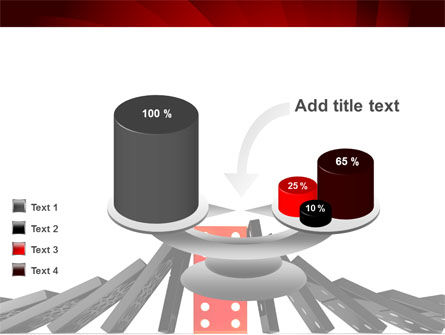 Central Domino PowerPoint Template Slide 10