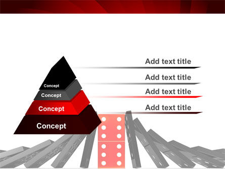 Central Domino PowerPoint Template Slide 12