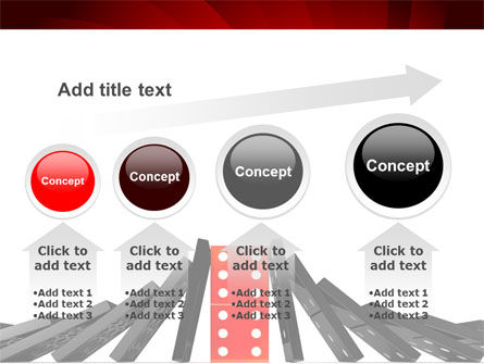 Central Domino PowerPoint Template Slide 13