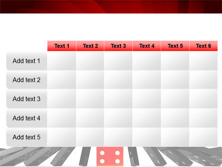 Central Domino PowerPoint Template Slide 15
