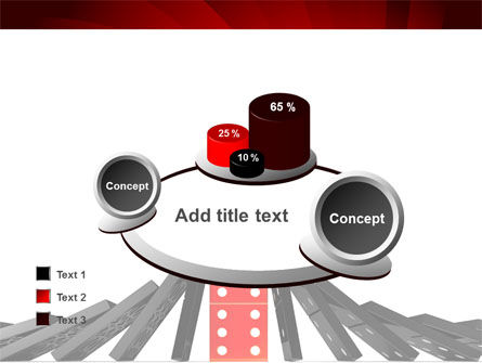 Central Domino PowerPoint Template Slide 16