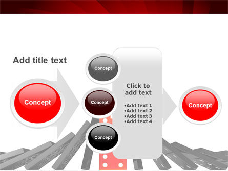 Central Domino PowerPoint Template Slide 17