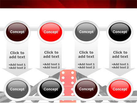 Central Domino PowerPoint Template Slide 18